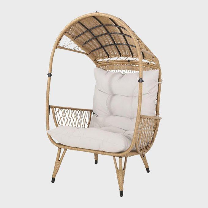 Rattan Canopy Chair