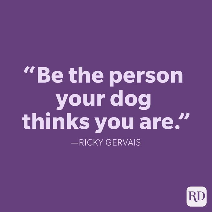 Ricky Gervais Be Yourself Quote