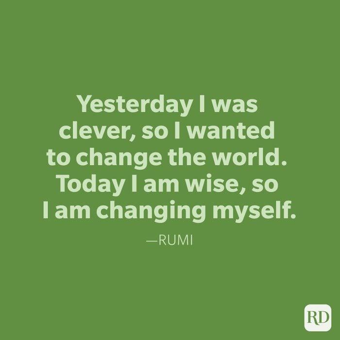 Rumi Change Quotes