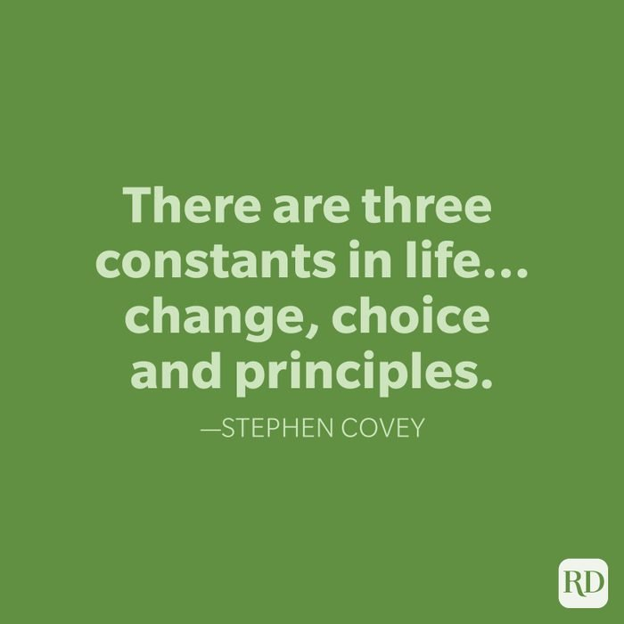 Stephen Covey Change Quotes