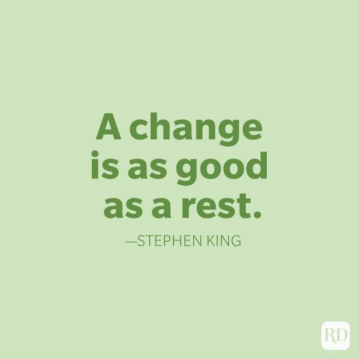 Stephen King Change Quote