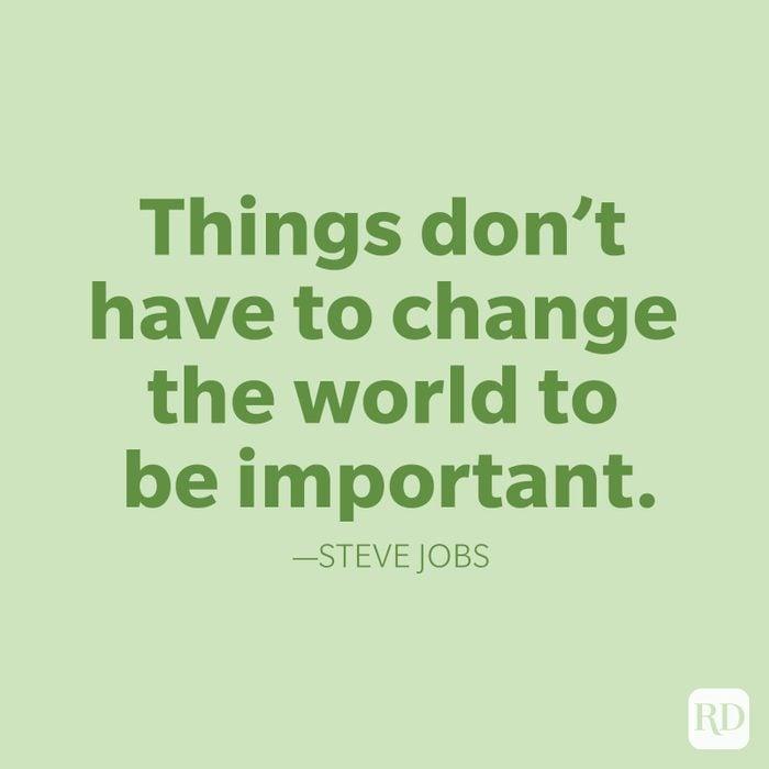 Steve Jobs Change Quotes