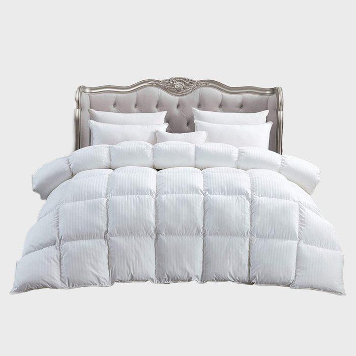 Striped Comforter Via Amazon