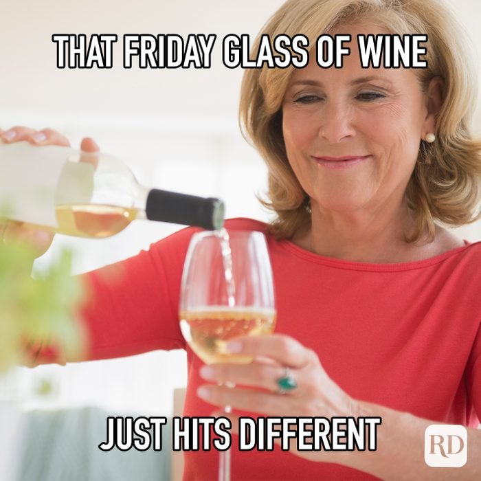 That Friday Glass Of Wine