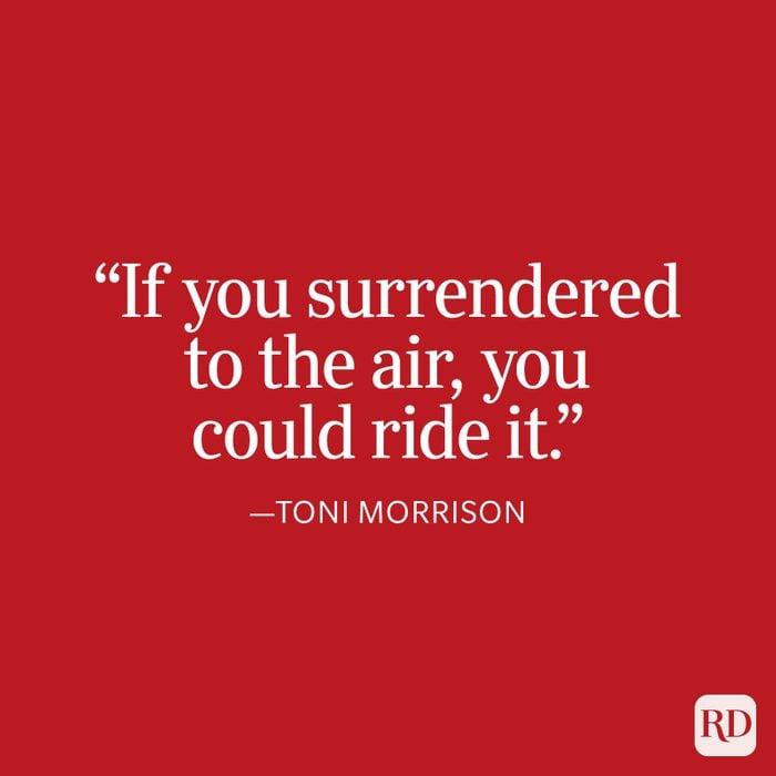 Toni Morrison Strength Quote