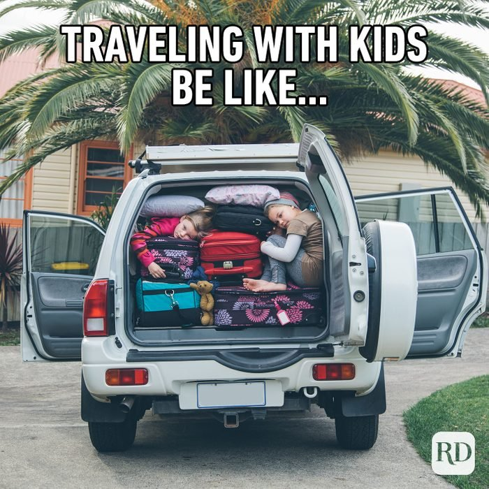 Traveling With Kids Be Like...