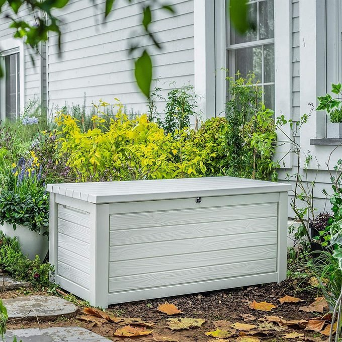 Weather Resistant Resin Storage Box