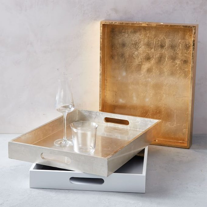 West Elm Lacquer Wood Trays
