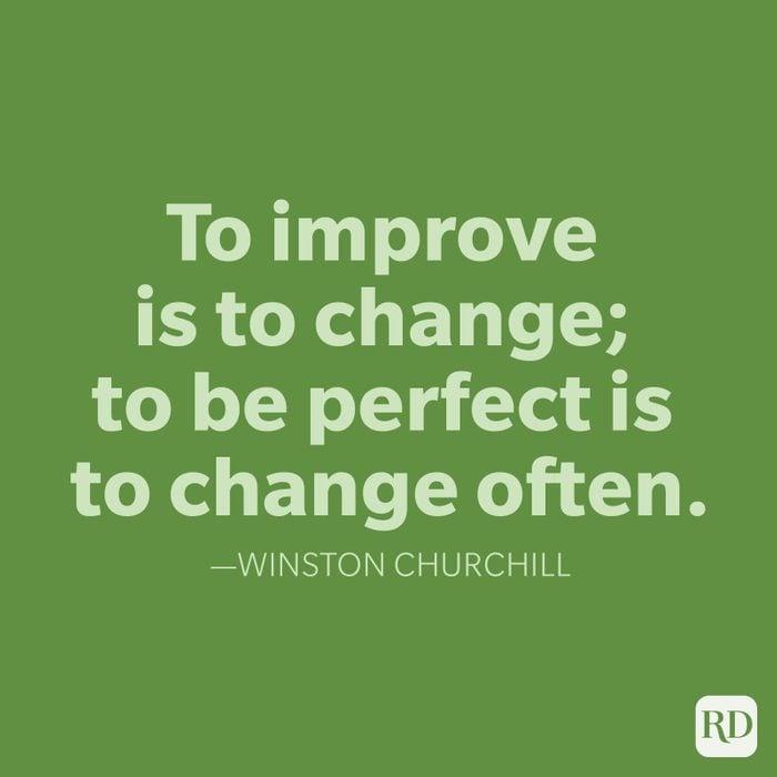 Winston Churchill Change Quotes