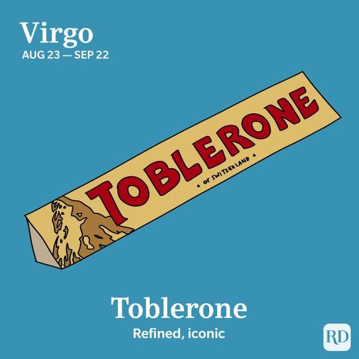 Zodiac Toblerone Virgo