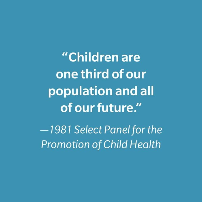 1981 Select Panel For The Promotion Of Child Health Inspiring Kids' Quotes