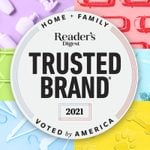The 2021 Reader's Digest Most Trusted Brands in America—Family and Home