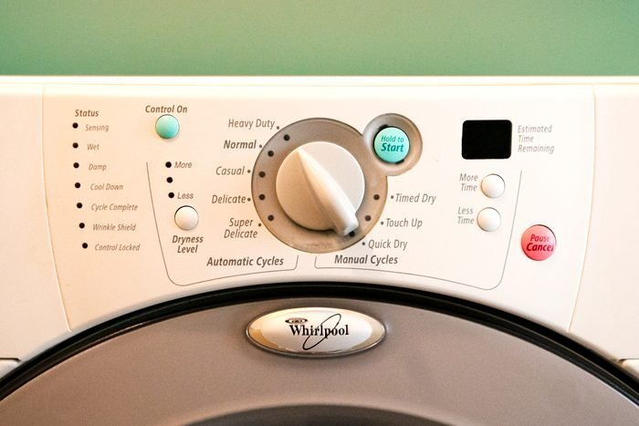 laundry dryer settings