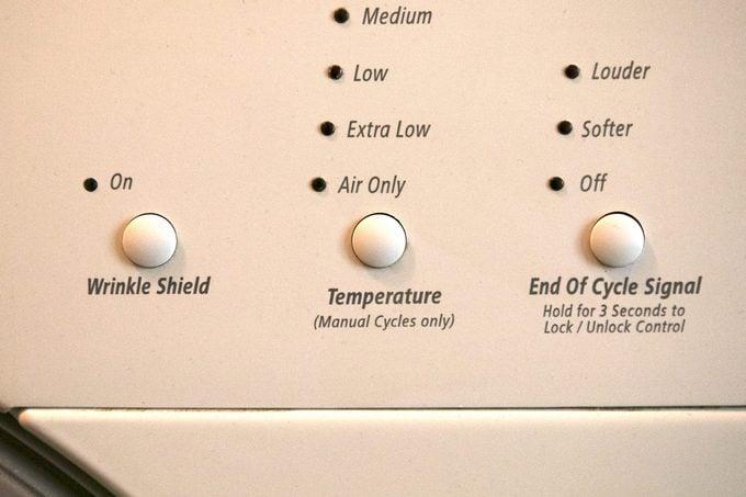 air dry laundry dryer settings