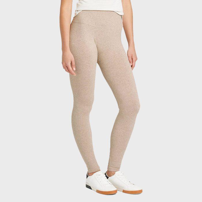 A New Day High Waist Cotton Seamless Fleece Lined Leggings