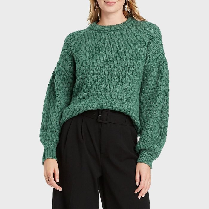A New Day Textured Pullover Sweater