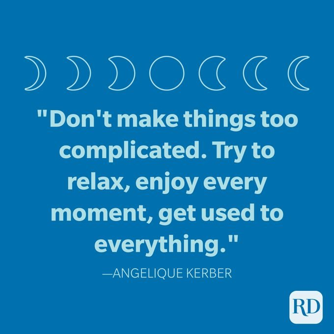 Angelique Kerber Goodnight Quote