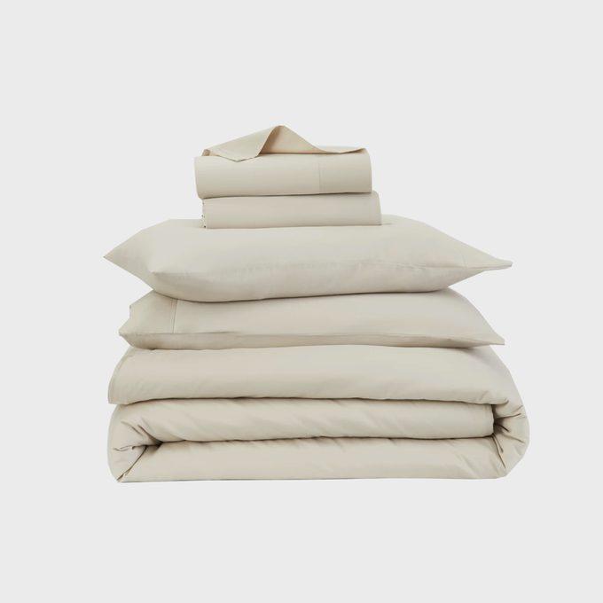 Casper 100 Percent Brushed Organic Cotton Flannel Sheet Set
