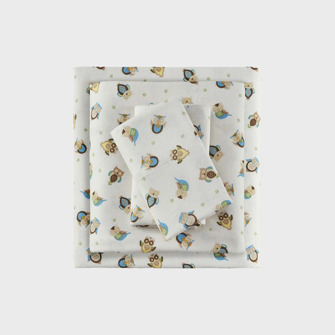 Comfort Classics 100 Percent Cotton Flannel Sheet Set