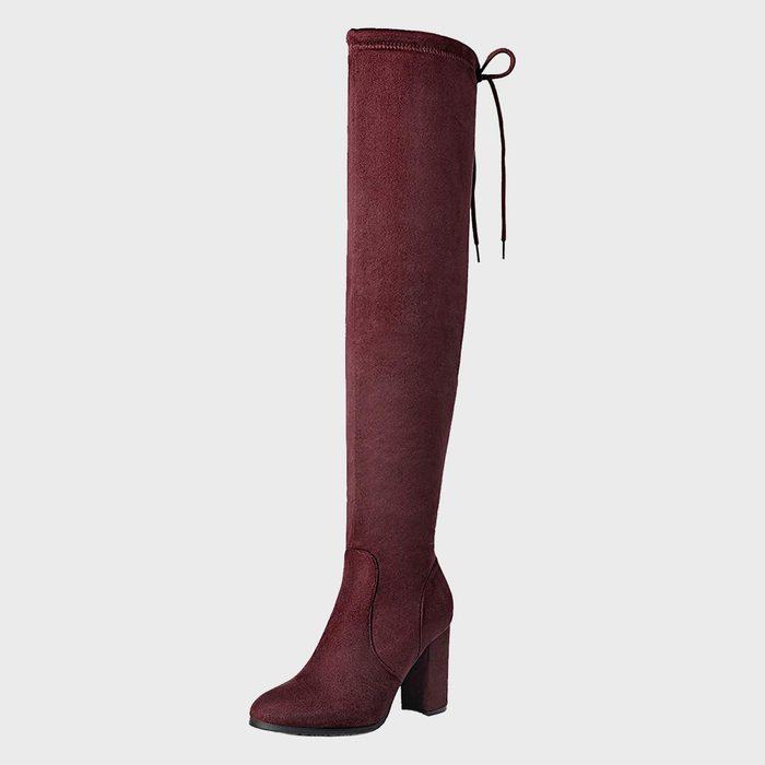 Dream Pairs Thigh High Fashion Boots