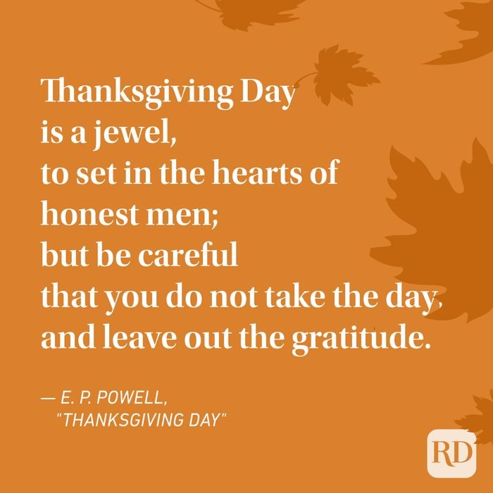 E. P. Powell Thanksgiving Poems