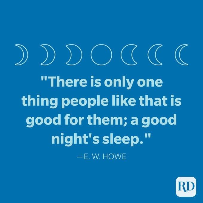 E.W. Howe Selamat Malam Kutipan