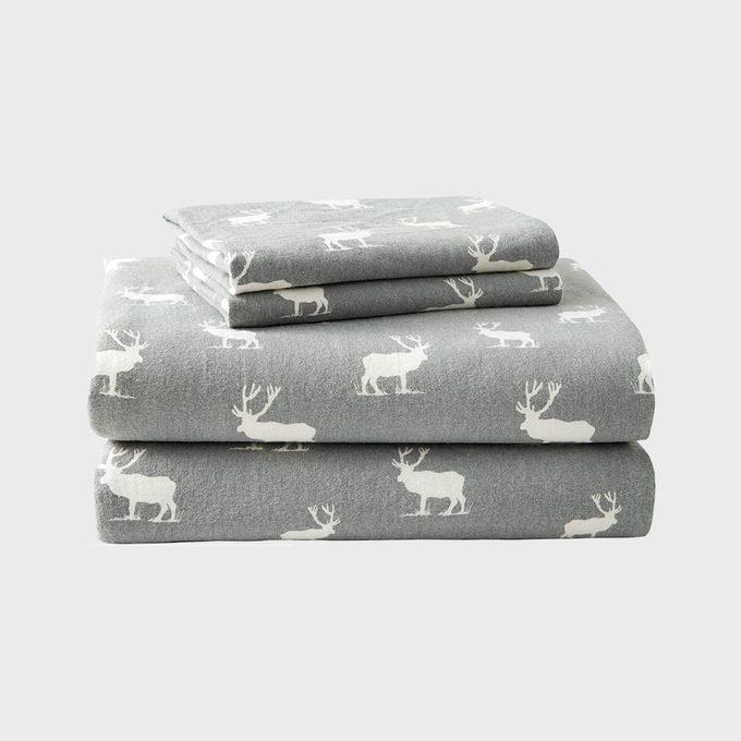 Eddie Bauer Flannel Collection Premium Cotton Sheet Set