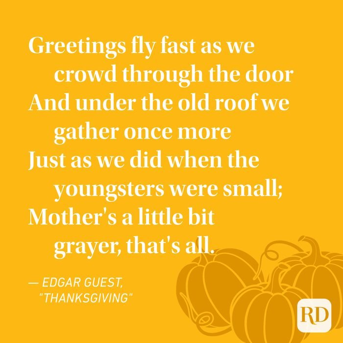 Edgar Guest Thanksgiving Poems