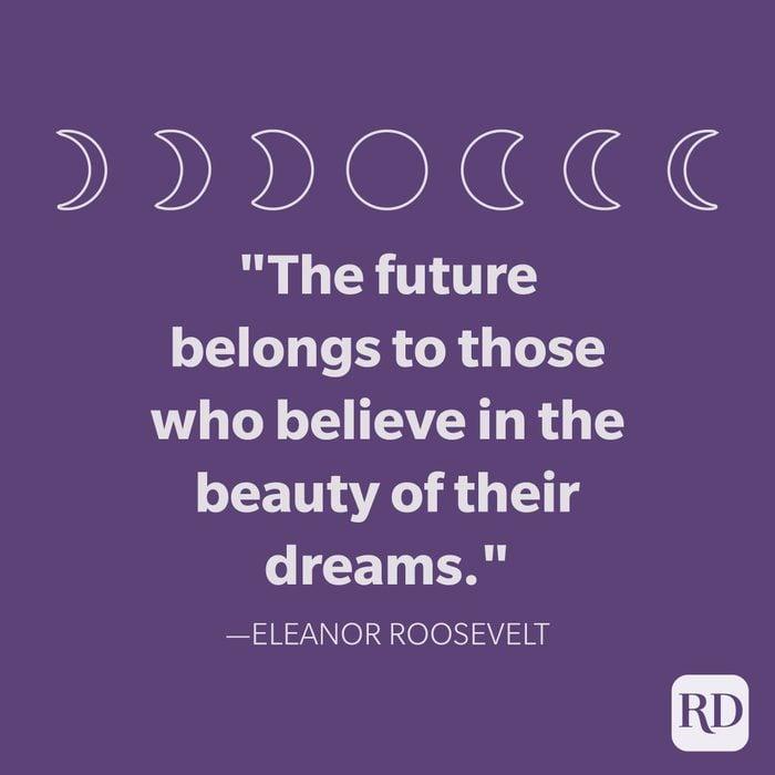 Eleanor Roosevelt Goodnight Quote