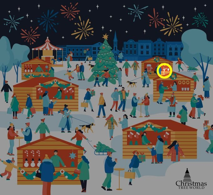Find The Reindeer Among The Shoppers Puzzle Answer