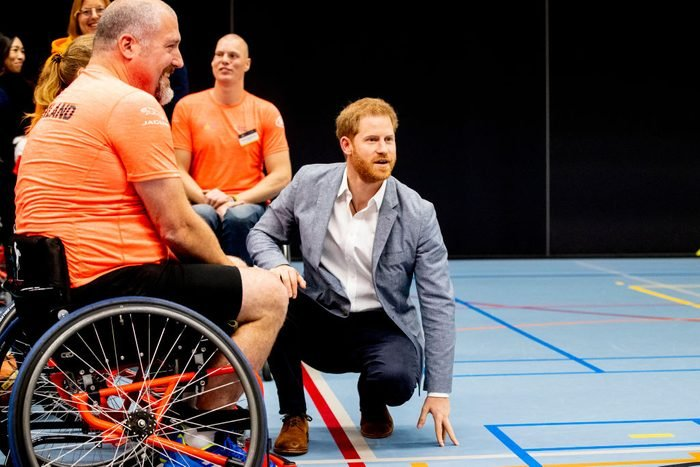 Launch Of The Invictus Games 2020 in The Hague
