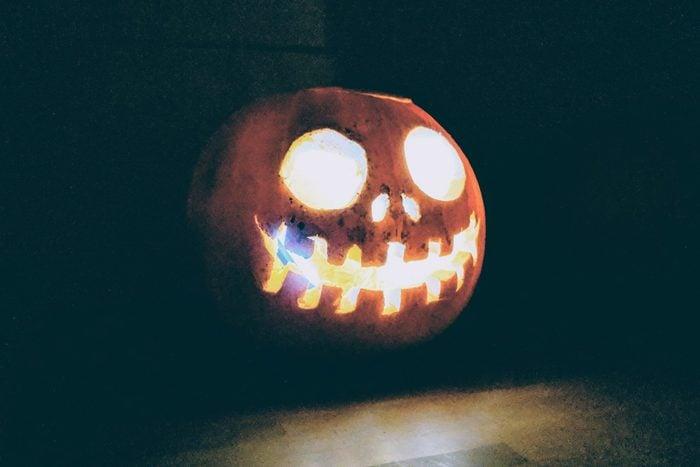 Nightmare Before Halloween pumpkin