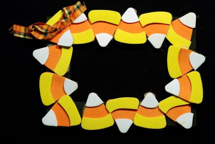 Candy Corn Craft Frame