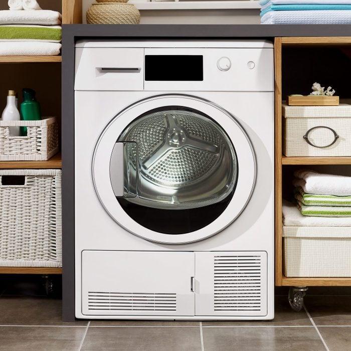 cleaned washing machine