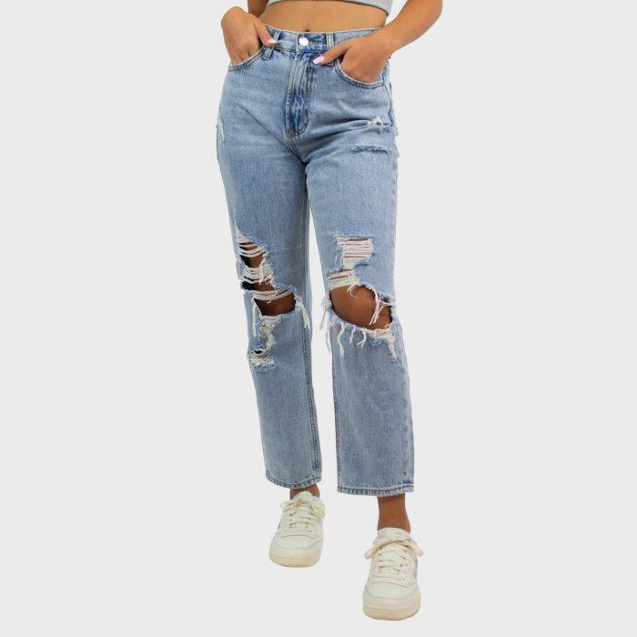 Grey Bandit Georgia Girlfriend Jeans