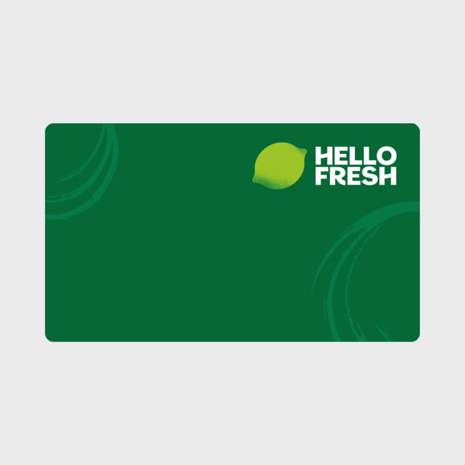 Hellofresh Gift Card