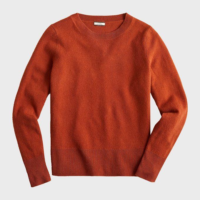 J. Crew Cashmere Classic Fit Crewneck Sweater