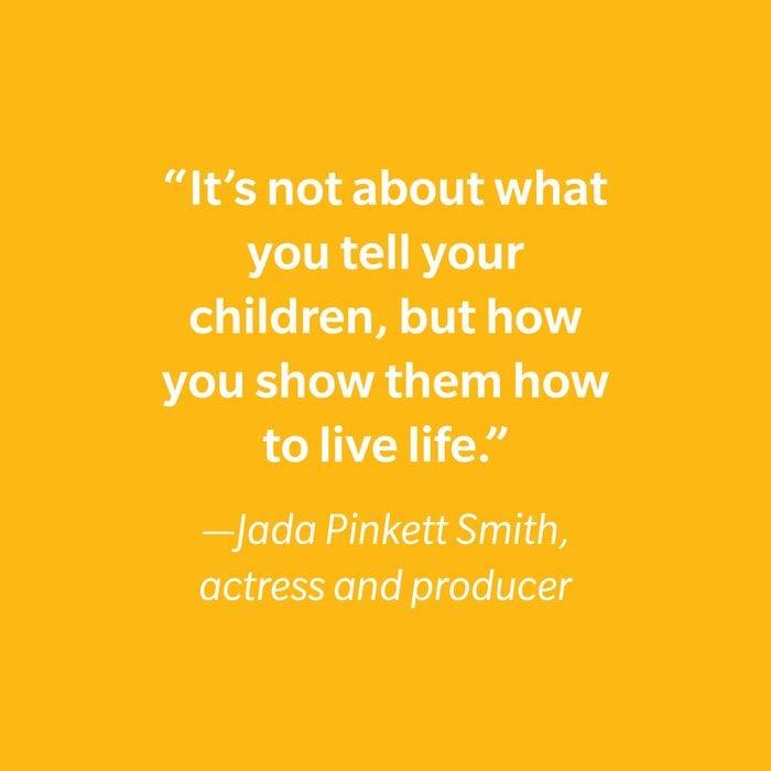 Jada Pinkett Smith Inspiring Kids' Quotes