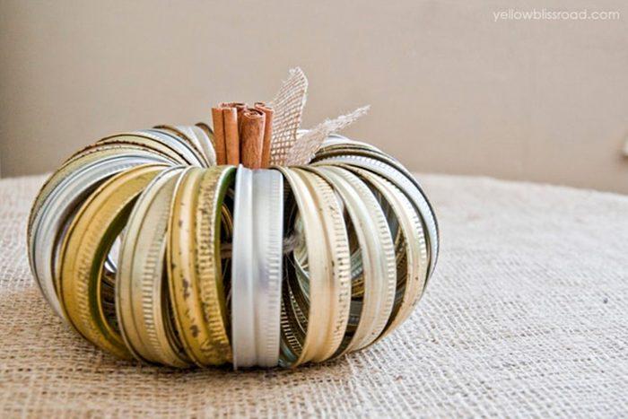 Jar Ring Pumpkin