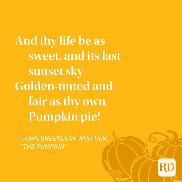 John Greenleaf Whittier Thanksgiving Poems