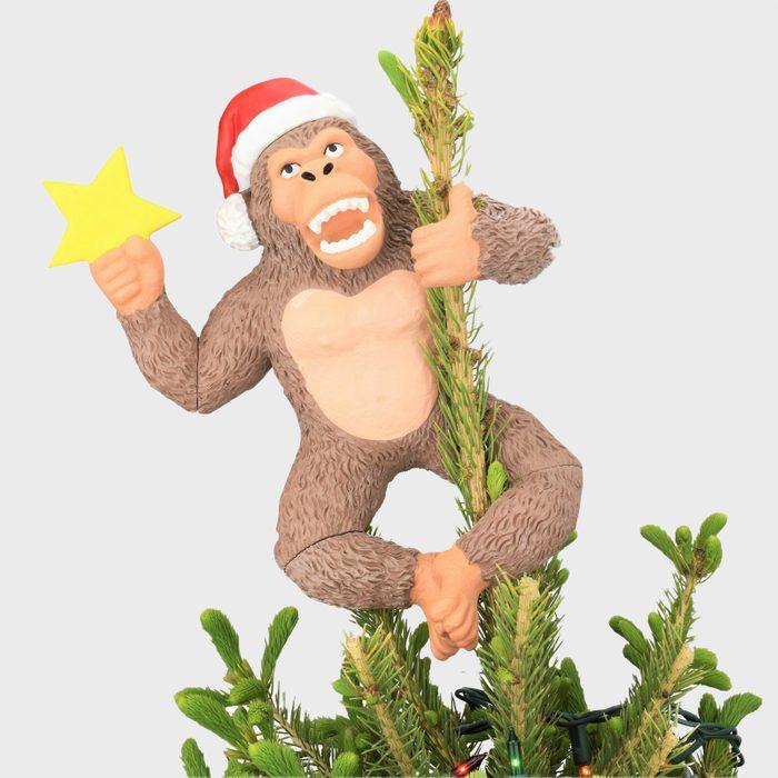 King Kong Christmas Tree Topper Via Etsy