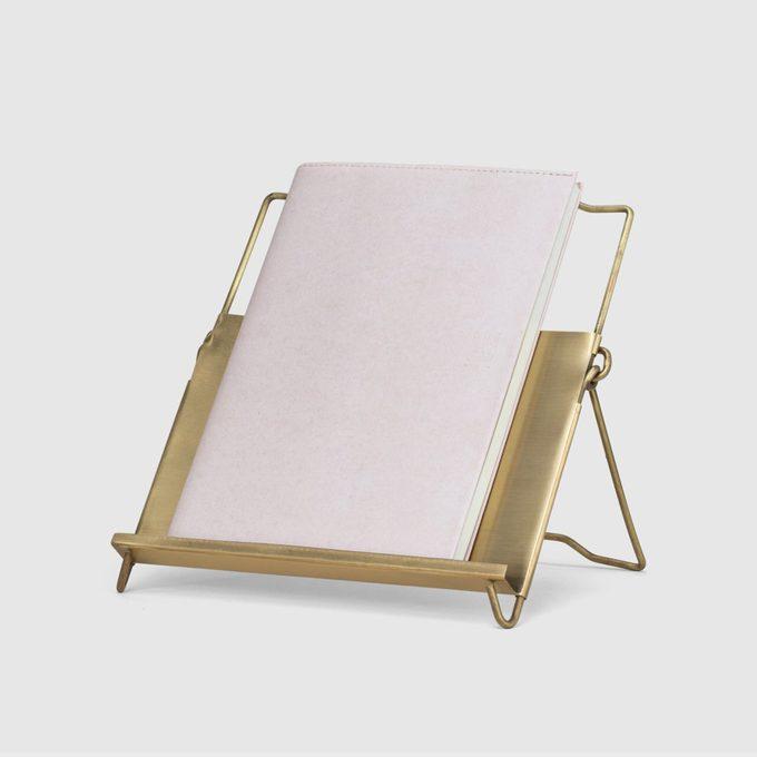 Konmari Brass Cookbook Stand