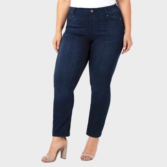 Liverpool Los Angeles Gia Glider Pull On Slim Jeans