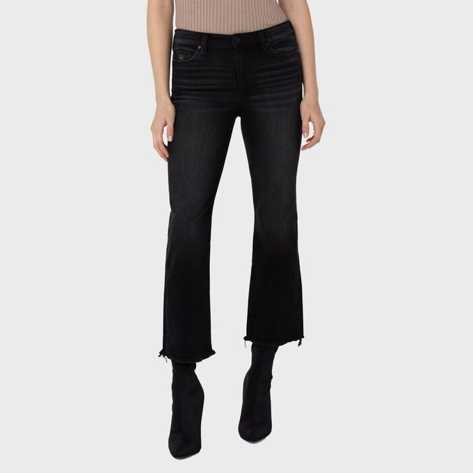 Liverpool Los Angeles Hannah Cropped Flares