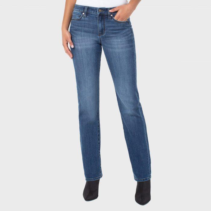 Liverpool Los Angeles Sadie Straight Eco Jeans