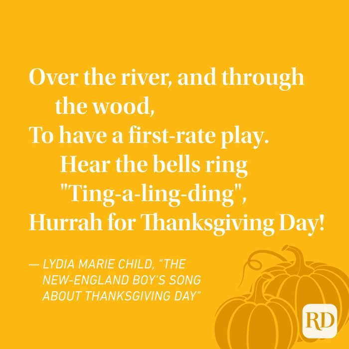 Lydia Marie Child Thanksgiving Poems