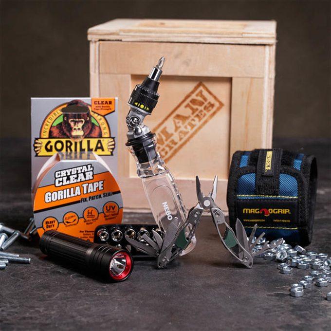 Man Crates Mr. Fix It Tool Crate