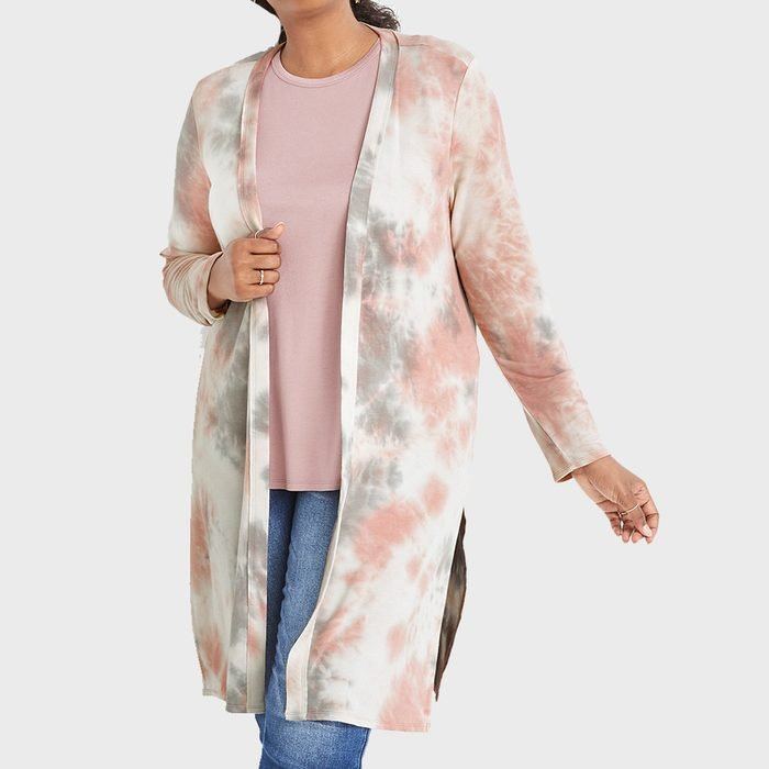 Maurices Tie Dye Duster Cardigan
