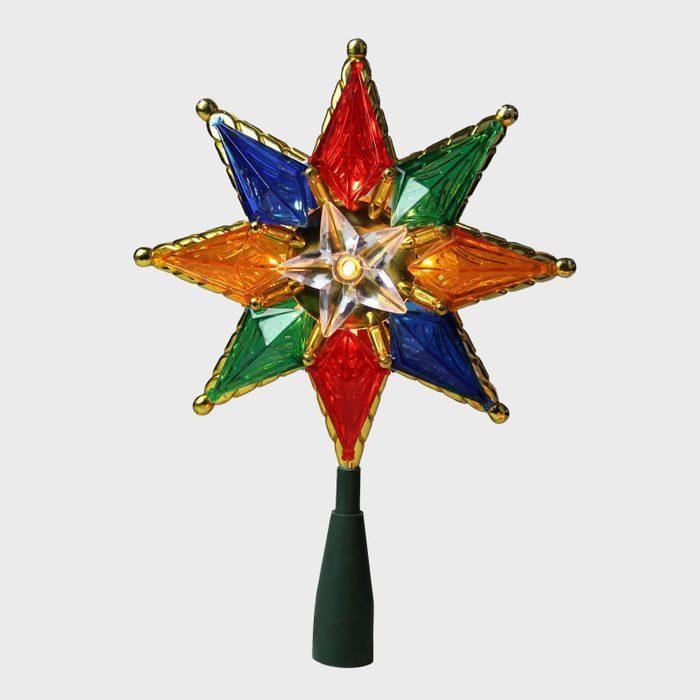 Multi Colored Christmas Tree Topper Via Target