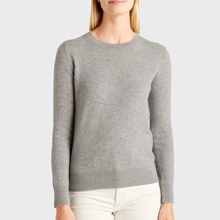 Quince Mongolian Cashmere Crewneck Sweater